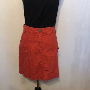 Tommy Hilfiger Coral Mini Skirt Size 12